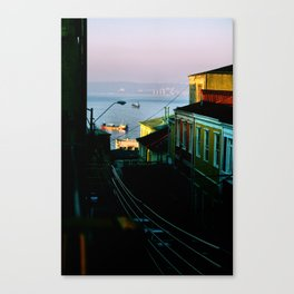 Valparaiso, Chile. Canvas Print