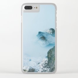 The Blue Lagoon Clear iPhone Case
