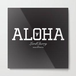 ALOHA 2 Metal Print