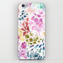 cornelia. watercolor florals. iPhone Skin