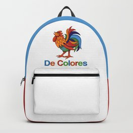 "DeColores ""in colors"" Rooster Backpack"
