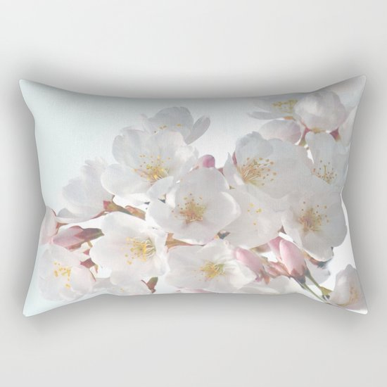 SPRING CHERRY BLOSSOM Rectangular Pillow