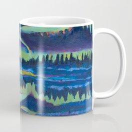 Yellowknife Aurora Coffee Mug