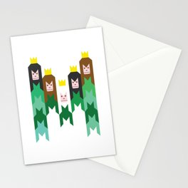 King of the Jungle Stationery Cards