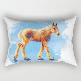 Little Horse Rectangular Pillow