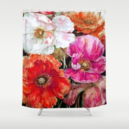 FLORAL-150119/1 Shower Curtain