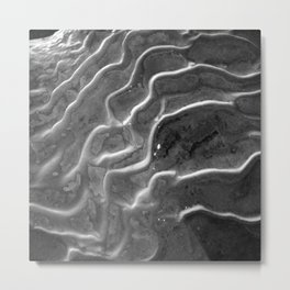 Rigid Waves Metal Print