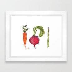 Veggie 1 Framed Art Print