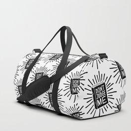 don't judge me 002 Duffle Bag