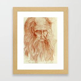 Like Leo by J. Baron Framed Art Print