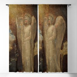 """William Blake """"The Angel Appearing to Zacharias"""" Blackout Curtain"""