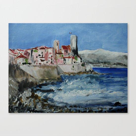 Antibes Canvas Print