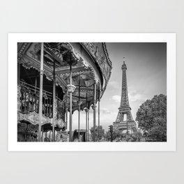 Typical Paris Art Print