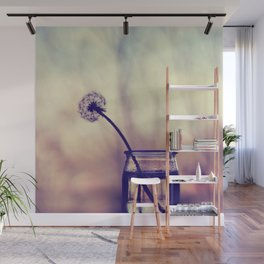 Dandelion Morning - flower photography Wall Mural