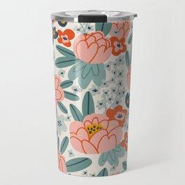 Spring peonies Travel Mug
