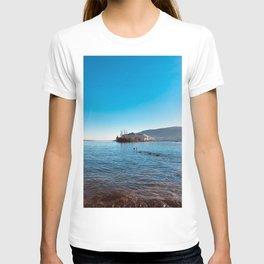 Italian island, Borromeo islands, italian lakes, lake fine art, fisherman's island T-shirt