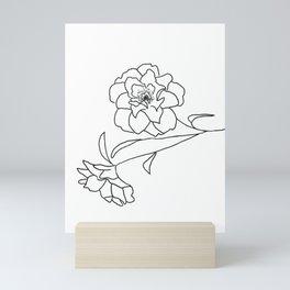 Delicate Floral Mini Art Print