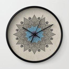 Digital Mandala #5 Wall Clock
