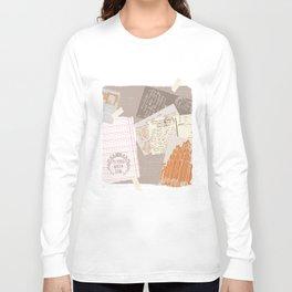 vintage postcards Long Sleeve T-shirt