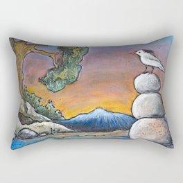 Rock Pile in the Rocky's *Little Bird Rectangular Pillow