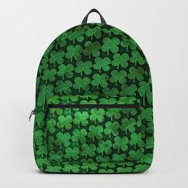 Four Leaf Pattern Backpack