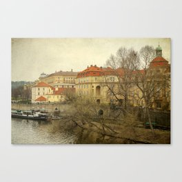 On Other Side of a River Canvas Print