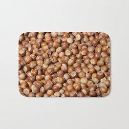 Hazelnuts pattern Bath Mat