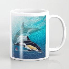 DW-031 Dolphin Dance Coffee Mug