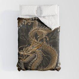 Dragon Pentagram Duvet Cover
