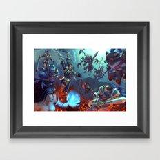 Summoner's Rift Framed Art Print