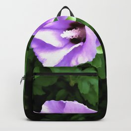 Mirrored Floral Backpack