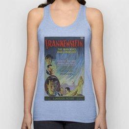 Vintage poster - Frankenstein Unisex Tank Top