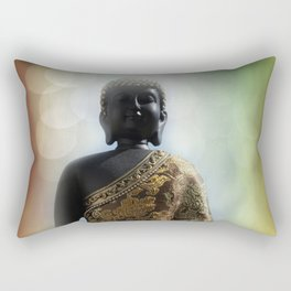 silence in your mind -1- Rectangular Pillow