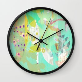 Abundant Forest Wall Clock