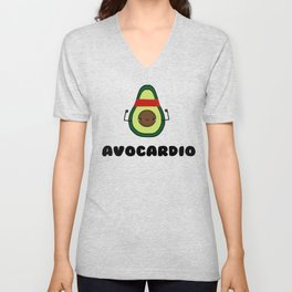 Avocardio Unisex V-Neck