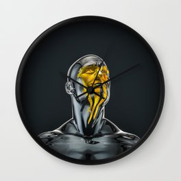 Love is the Only Gold Wall Clock