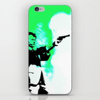 clint barton iPhone & iPod Skins featuring Clint by Fimbis