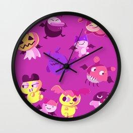 Devilgotchis Wall Clock