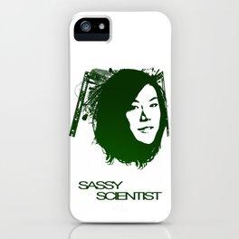 Sassy Scientist iPhone Case