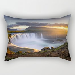 Goðafoss Rectangular Pillow