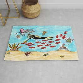 So Much To Sea Rug