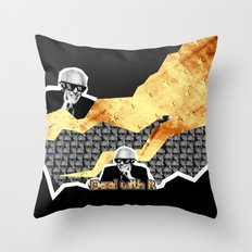 Bernie Sanders Deal With It Throw Pillow