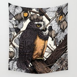 Spectacled Owl Wall Tapestry