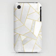 White Stone Slim Case iPhone (3g, 3gs)
