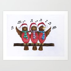 Seasons Tweetings Art Print