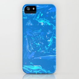 marbled sky iPhone Case