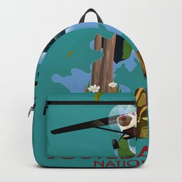 Jostedalsbreen national park norway map Backpack