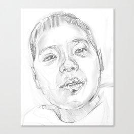 My little son Canvas Print