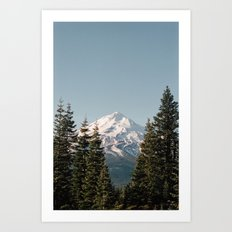 Mt Shasta Morning Art Print