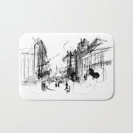 Alchemy Sketch - City Bath Mat